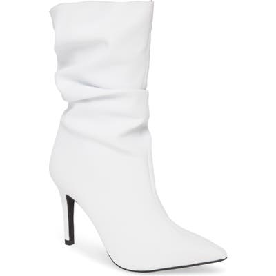 Jeffrey Campbell Percival Bootie, White