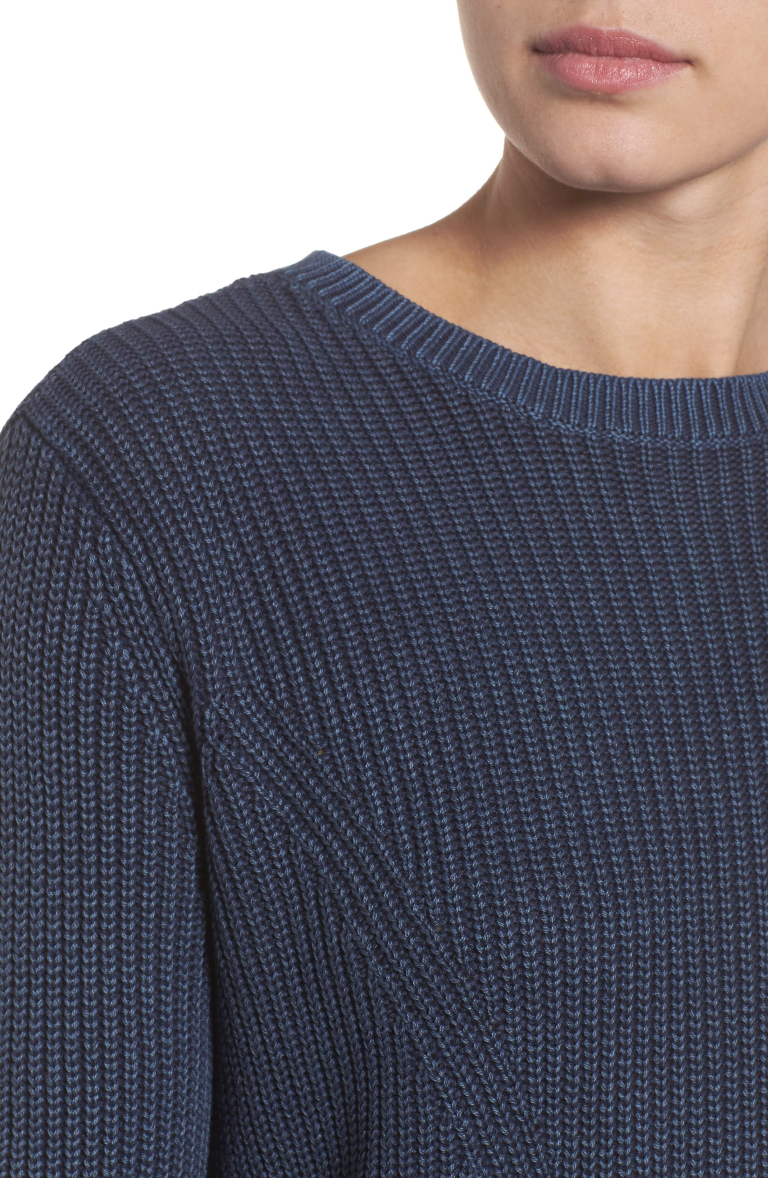 ,                             Tie Back Tunic Sweater,                             Alternate thumbnail 46, color,                             410
