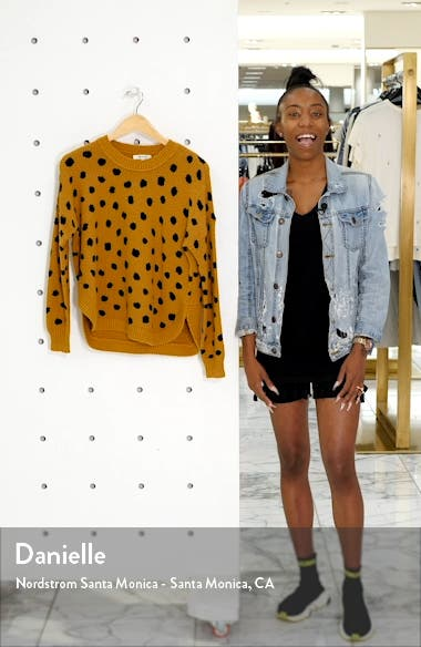 Painted Spots Pullover Sweater, sales video thumbnail