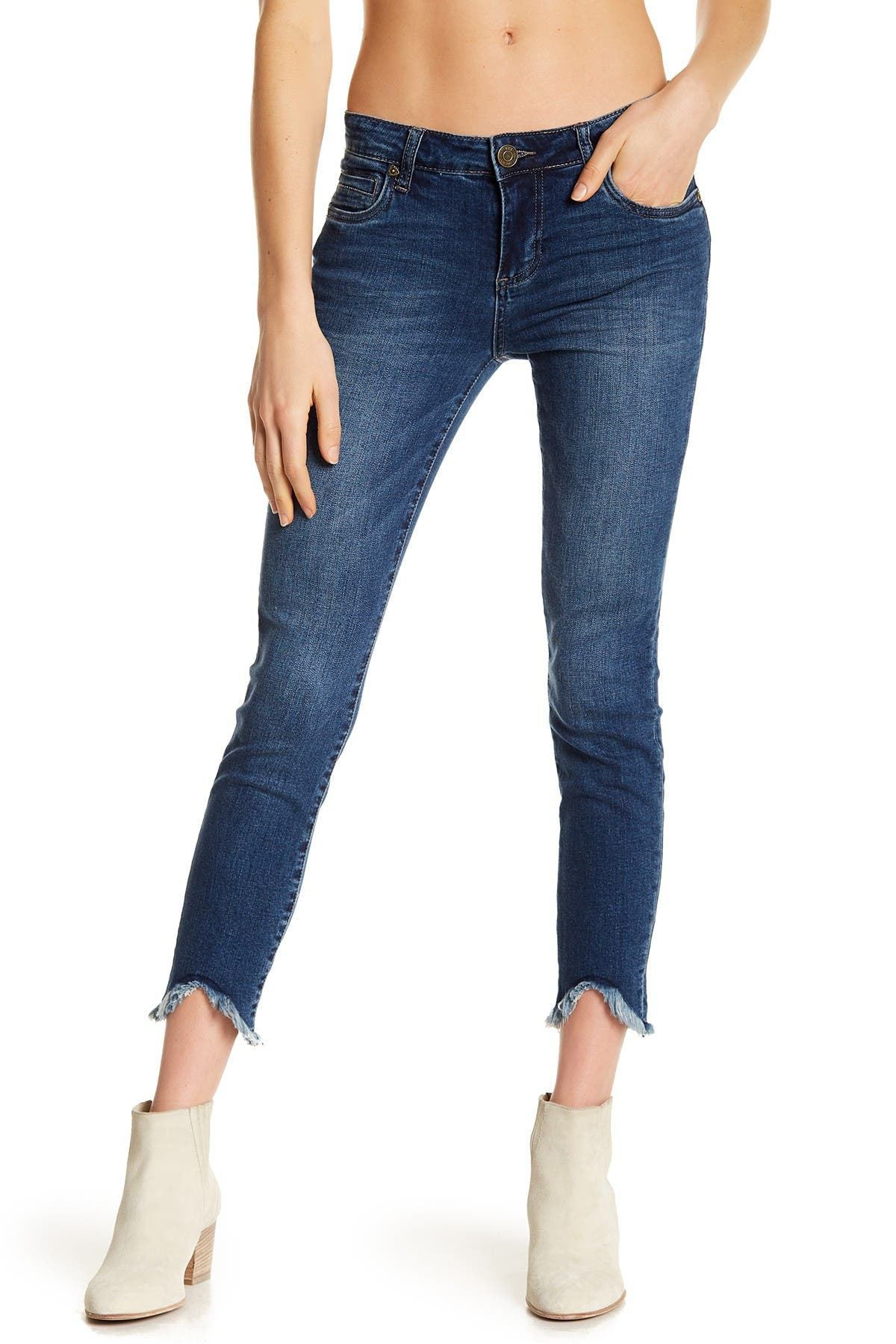 Image of KUT from the Kloth Carlo Skinny Ankle Jeans