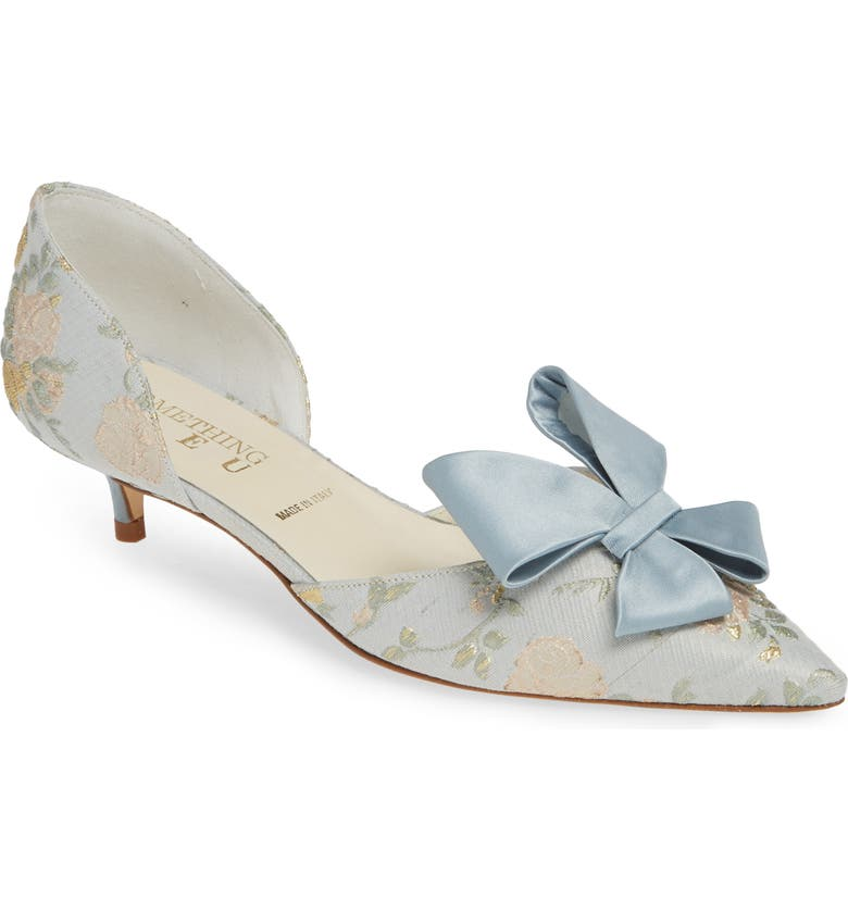 Cliff Bow D'orsay Pump by Something Bleu