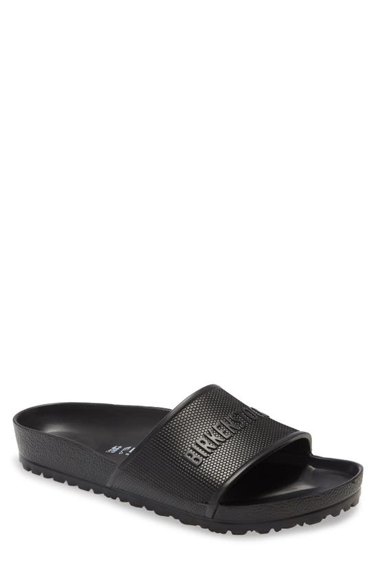Birkenstock Men's Barbados Slide Sandals From Finish Line In Black
