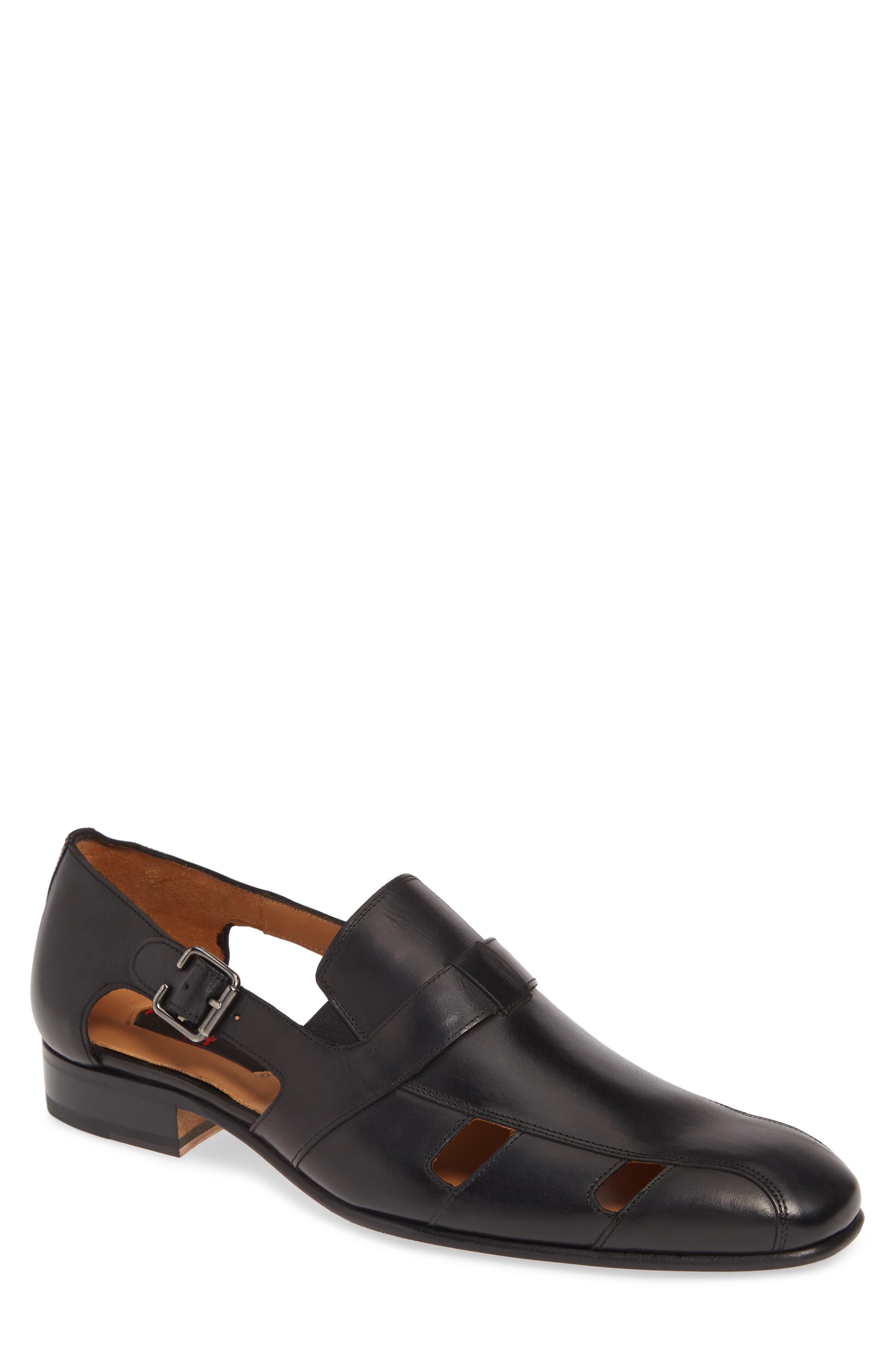 Mezlan Handel Sandal- Black
