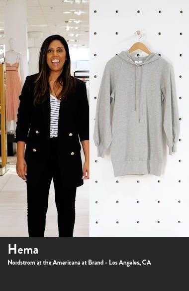 Long Sleeve Hooded Sweatshirt Dress, sales video thumbnail