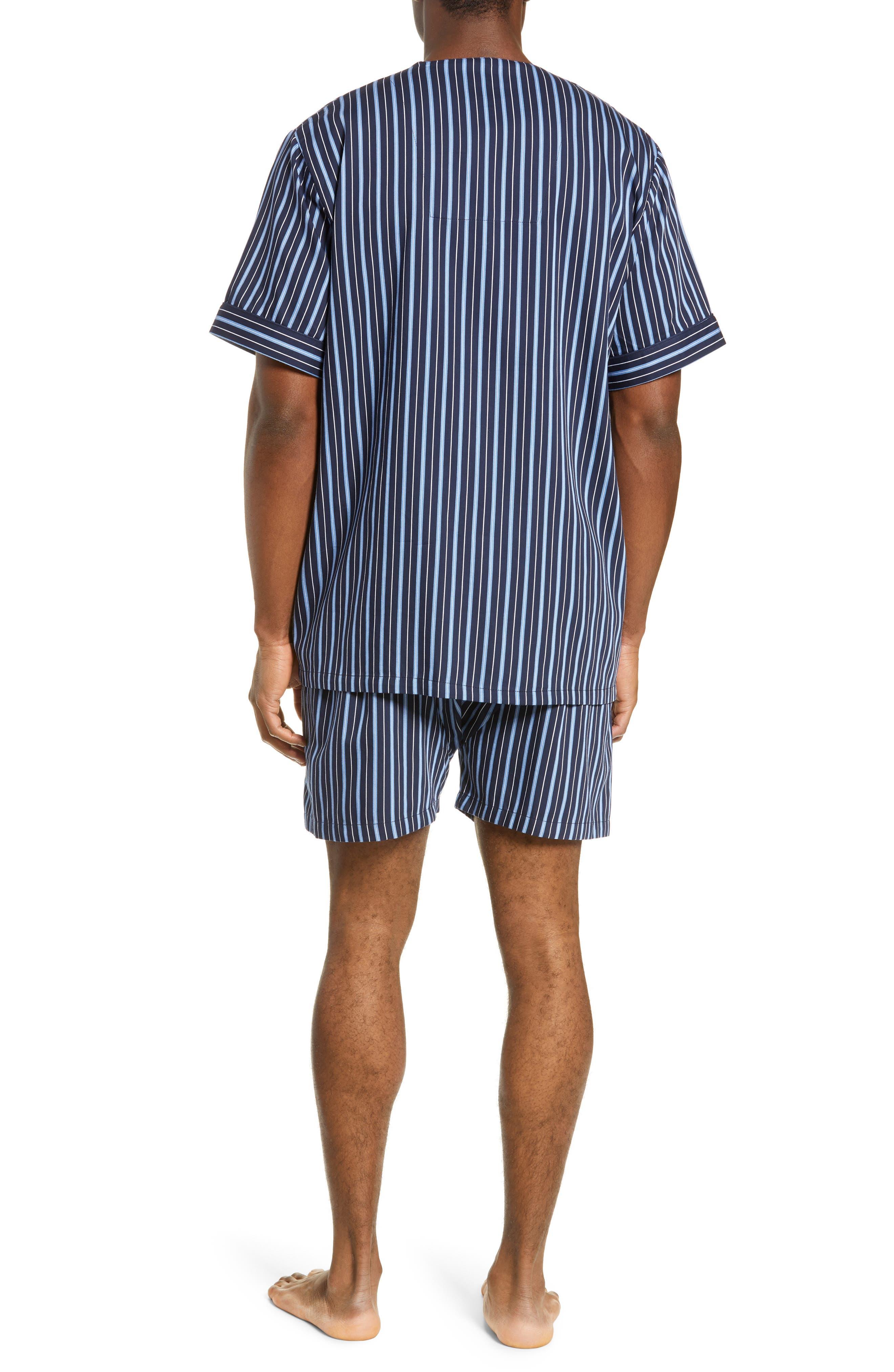 ,                             Fresca Shorty Pajamas,                             Alternate thumbnail 2, color,                             NAVY