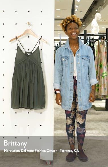 Felix Cover-Up Minidress, sales video thumbnail