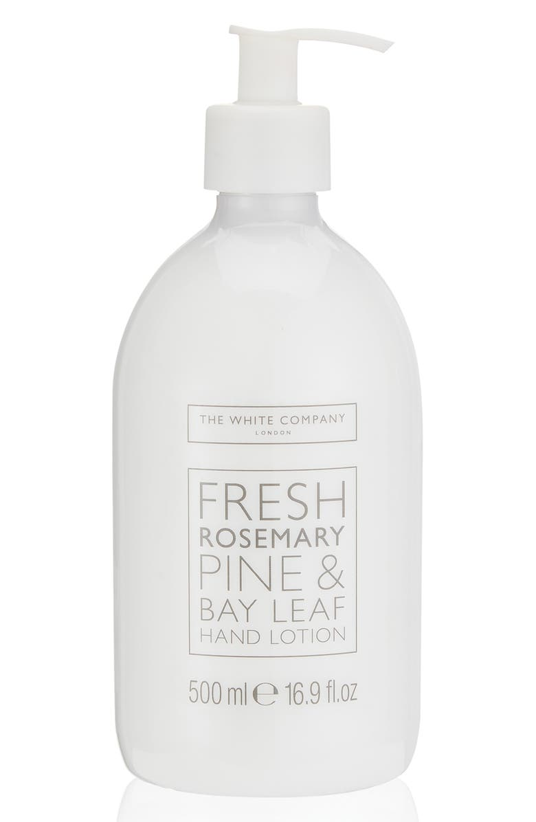 THE WHITE COMPANY Hand Lotion, Main, color, FRESH ROSEMARY