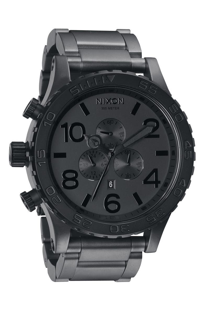 NIXON 'The 51-30 Chrono' Watch, 51mm, Main, color, 020