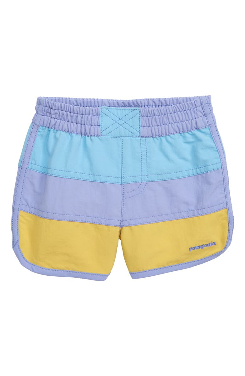 PATAGONIA Board Shorts, Main, color, LVBL LIGHT VIOLET BLUE