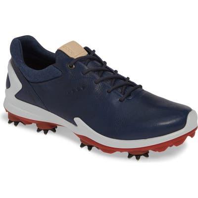 Ecco Biom G 3 Gore-Tex Golf Shoe,8.5 - Blue