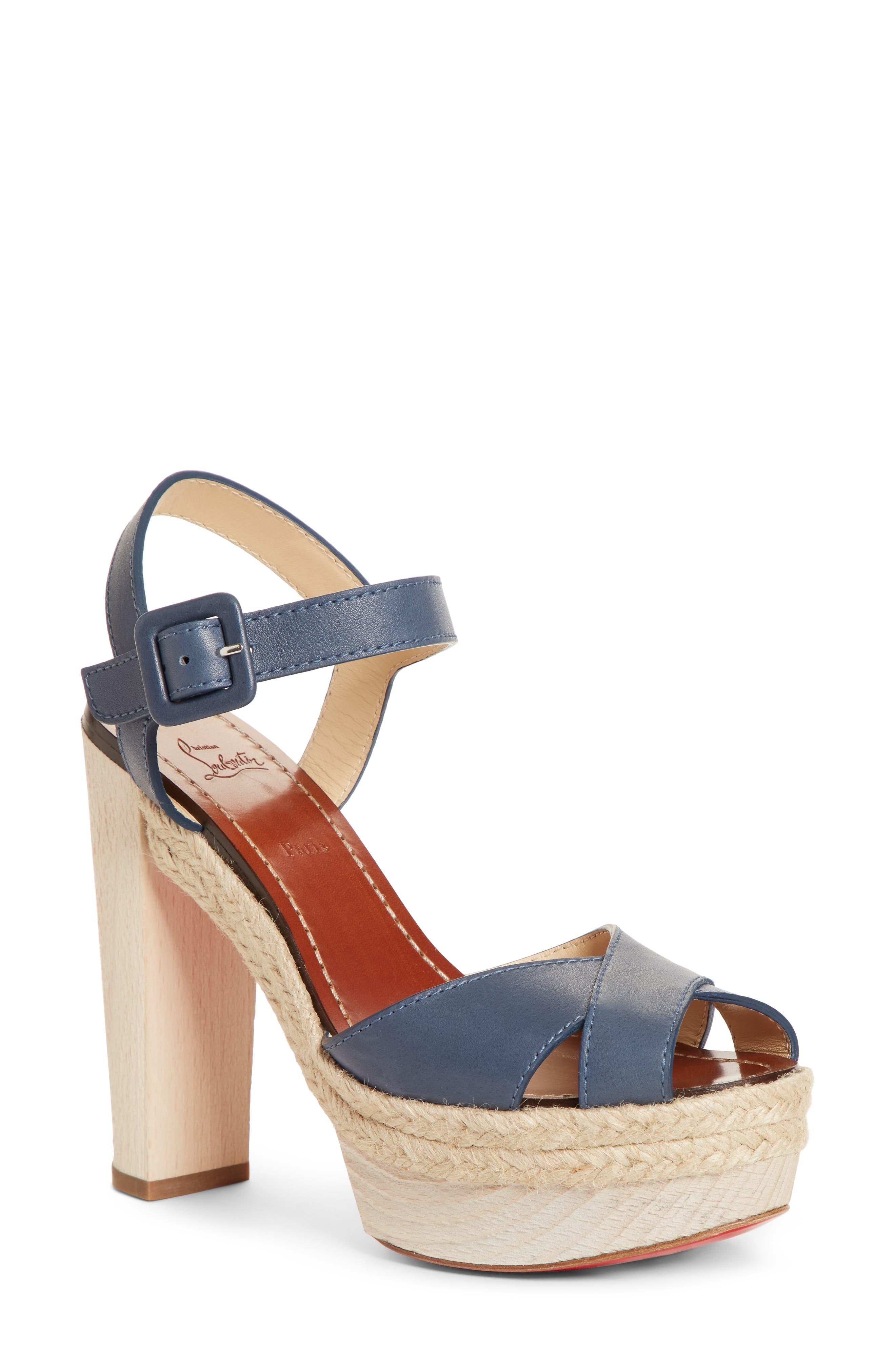 Christian Louboutin Slippers Cabana Platform Sandal