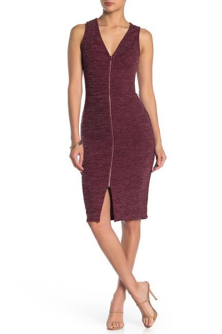 Image of MAX & ASH Rib Knit Bodycon Dress