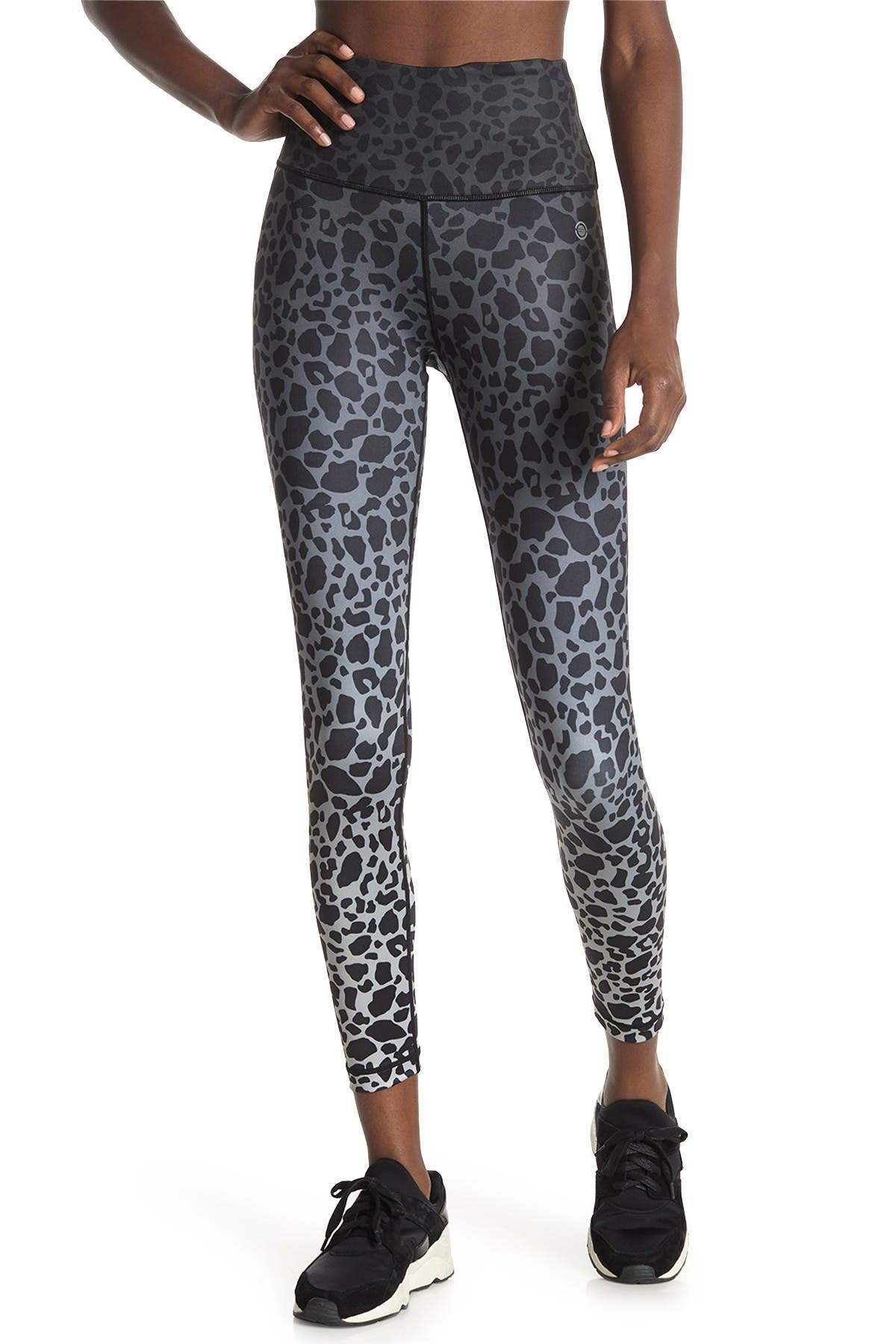 Image of Max Studio Monday Cheetah Print High Rise 7/8 Leggings