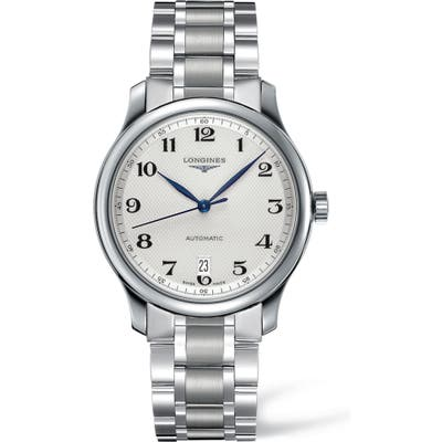 Longines Master Automatic Bracelet Watch, 38.5Mm