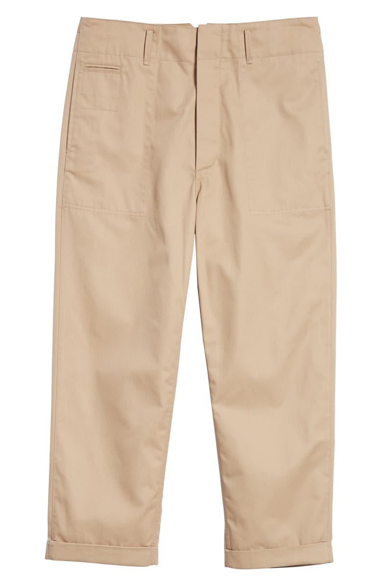 MARNI Workwear Pants, Main, color, BEIGE