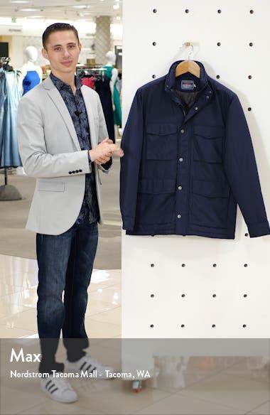 Regular Fit Hooded Field Jacket, sales video thumbnail