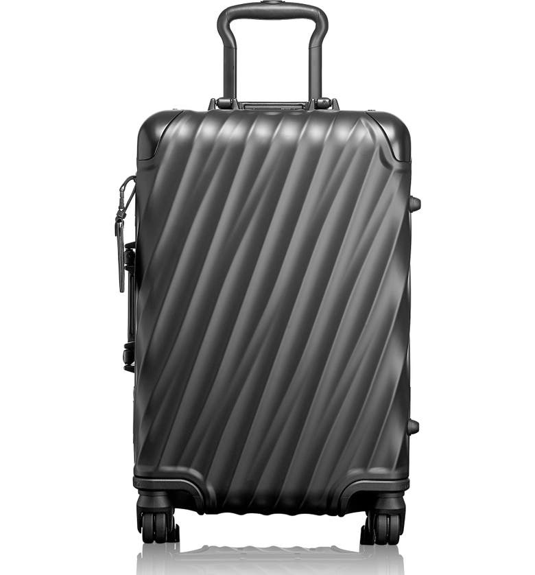 TUMI 19 Degree 22-Inch Wheeled Carry-On Bag, Main, color, MATTE BLACK
