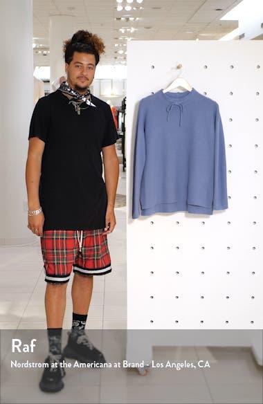 Funnel Neck Rib Sweater, sales video thumbnail