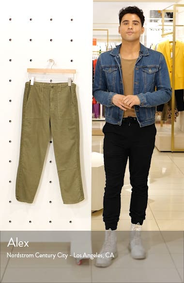 The Shaker High Waist Raw Crop Pants, sales video thumbnail