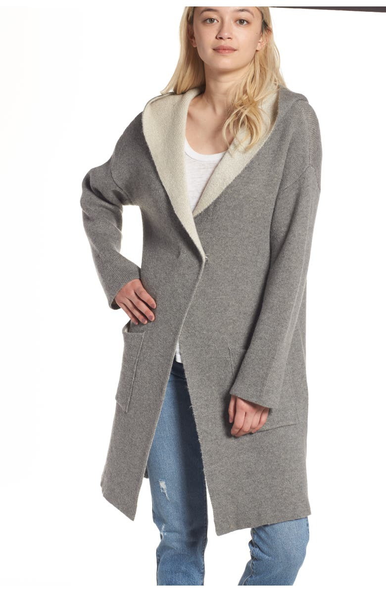BLANKNYC Chill Pill Cardigan, Main, color, 001