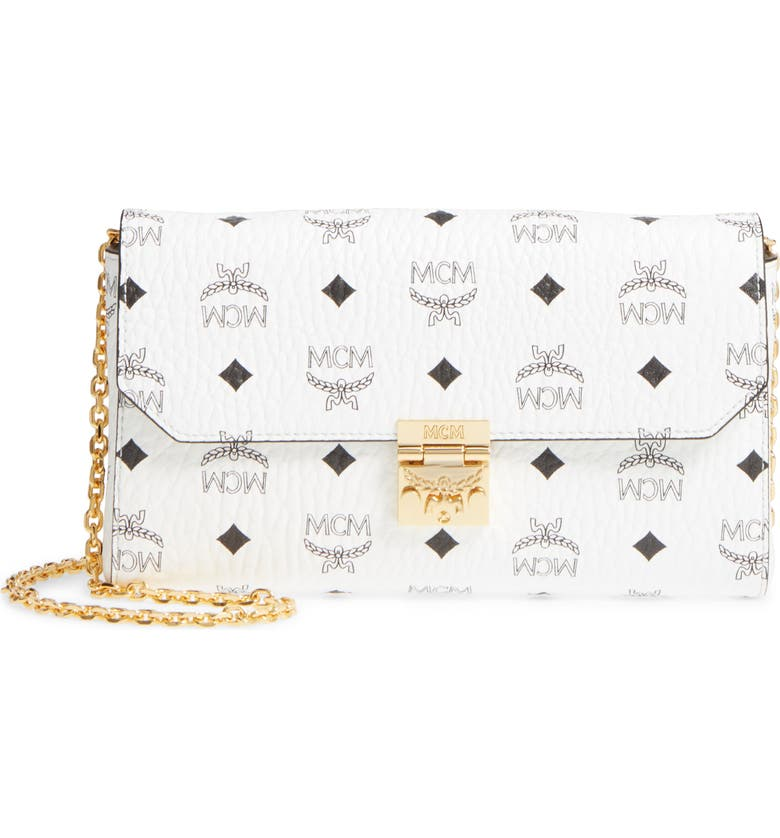 Millie Monogrammed Leather Crossbody Bag