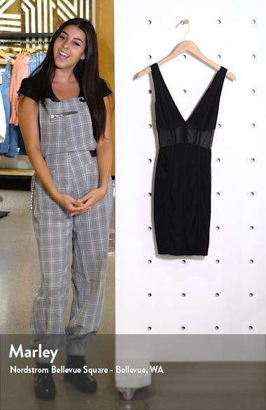 Amelia Mesh Body-Con Dress, sales video thumbnail