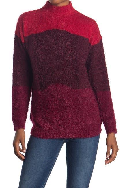 Image of RXB Color Block Eyelash Sweater