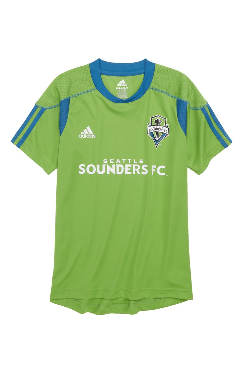 new products 41aee 5e24e MLS Seattle Sounders FC Primary Logo Graphic T-Shirt