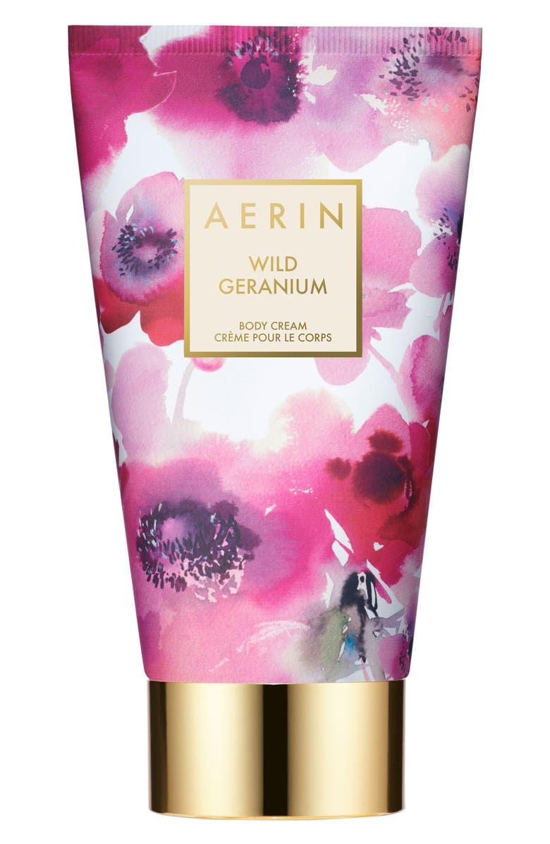 ESTÉE LAUDER AERIN Beauty Wild Geranium Body Cream, Main, color, NO COLOR