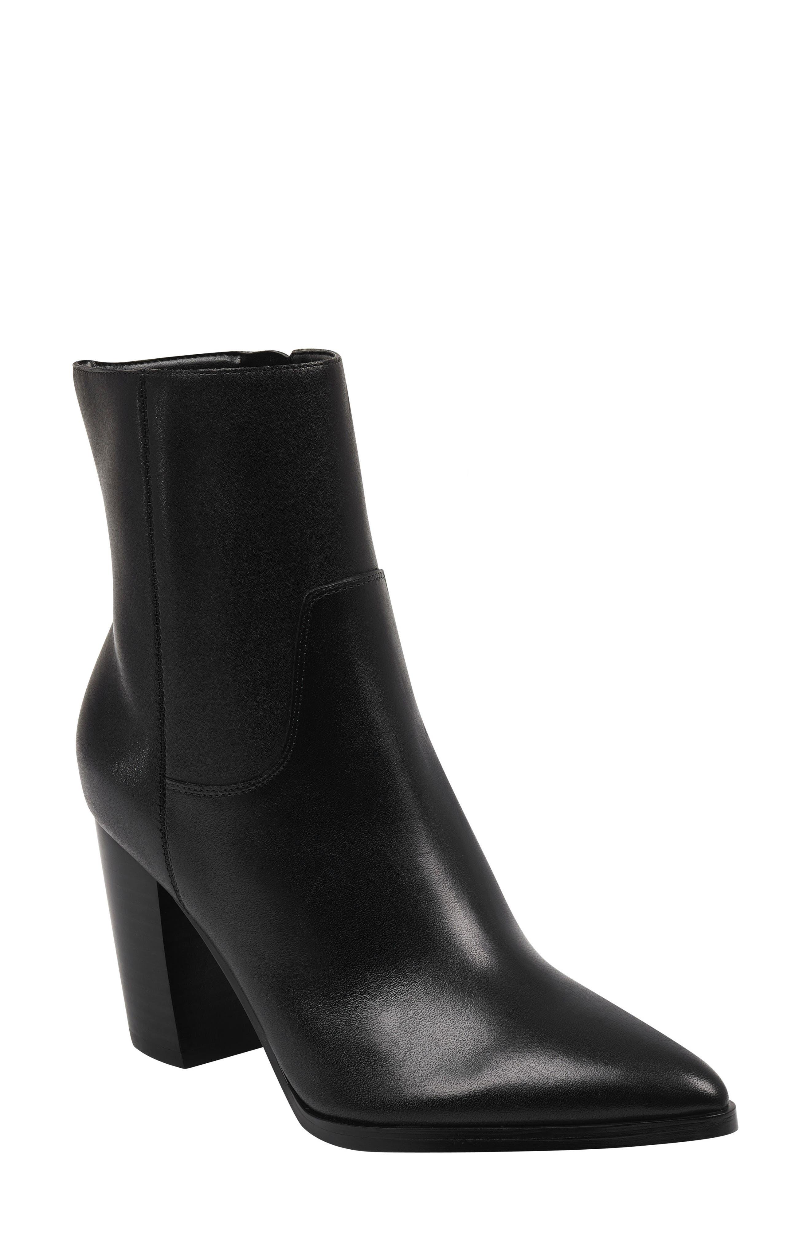 Marc Fisher Ltd Giana Western Bootie- Black