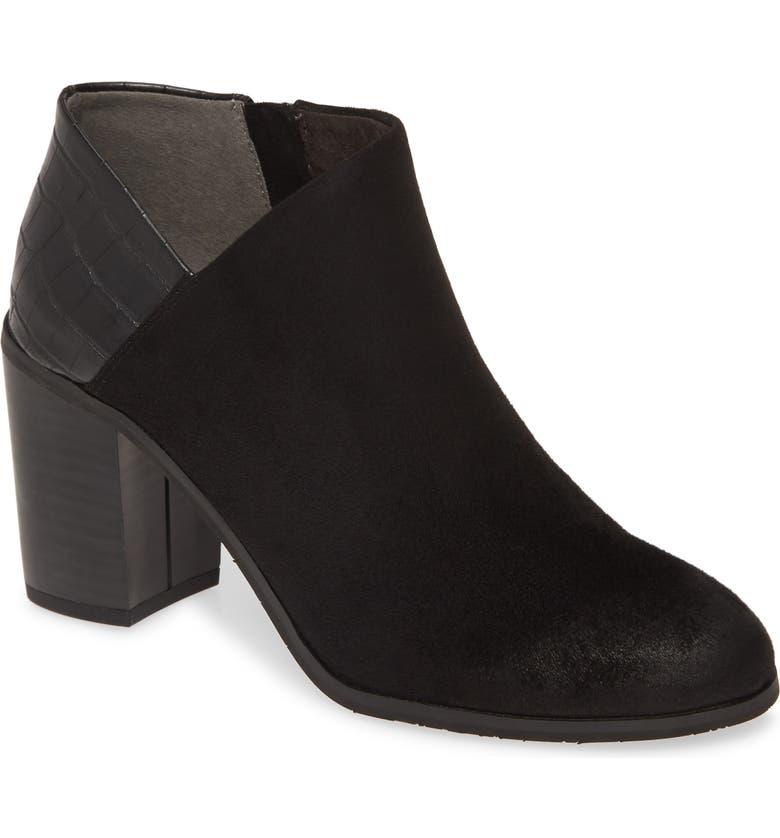 BC FOOTWEAR Kettle Vegan Block Heel Bootie, Main, color, BLACK FABRIC