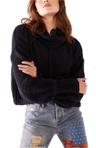 Free People Sweaters BE YOURS COWL NECK SWEATER