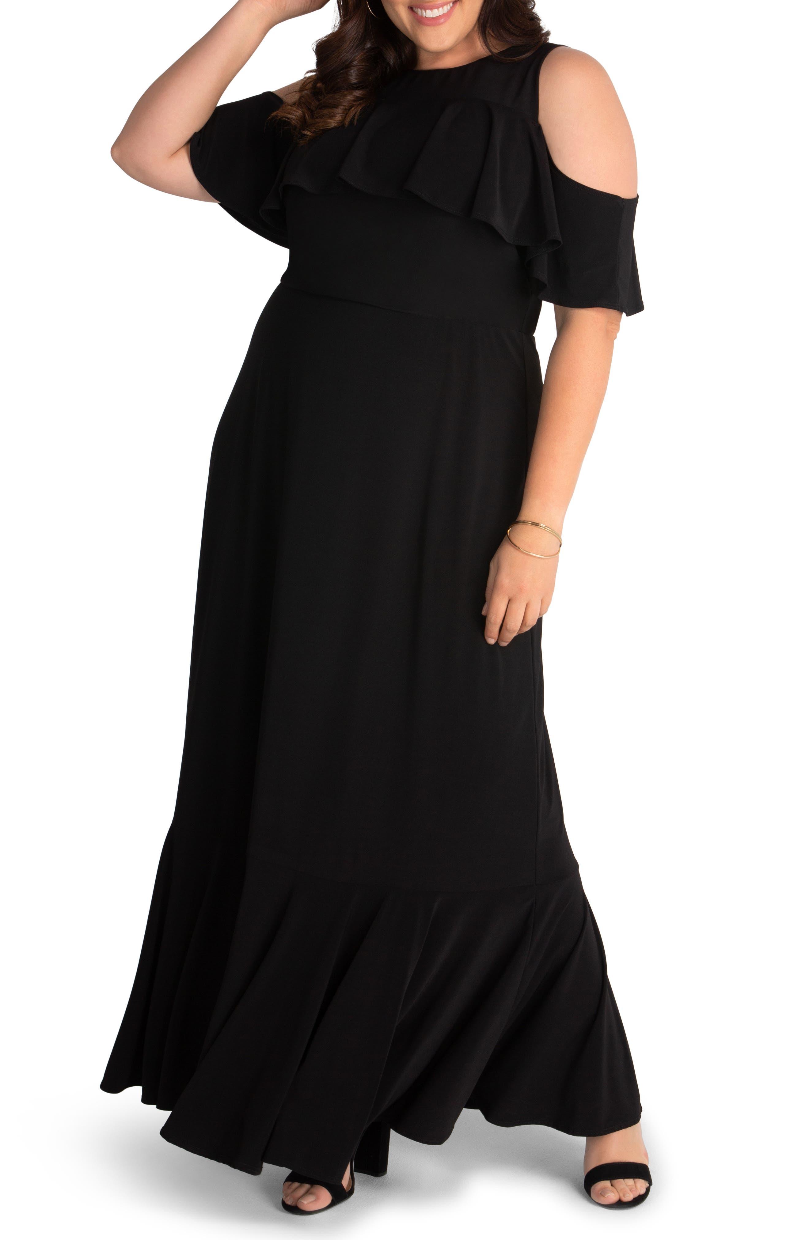 Piper Cold Shoulder Dress