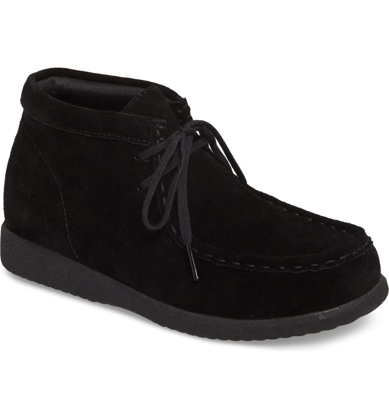 HUSH PUPPIES<SUP>®</SUP> Bridgeport III Chukka Boot, Main, color, BLACK SUEDE