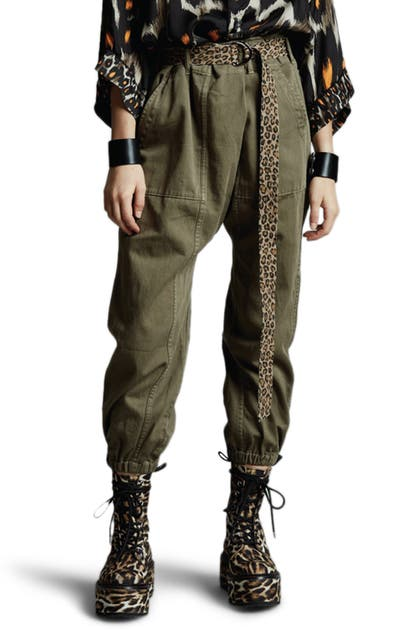 R13 DROP CROTCH UTILITY PANTS