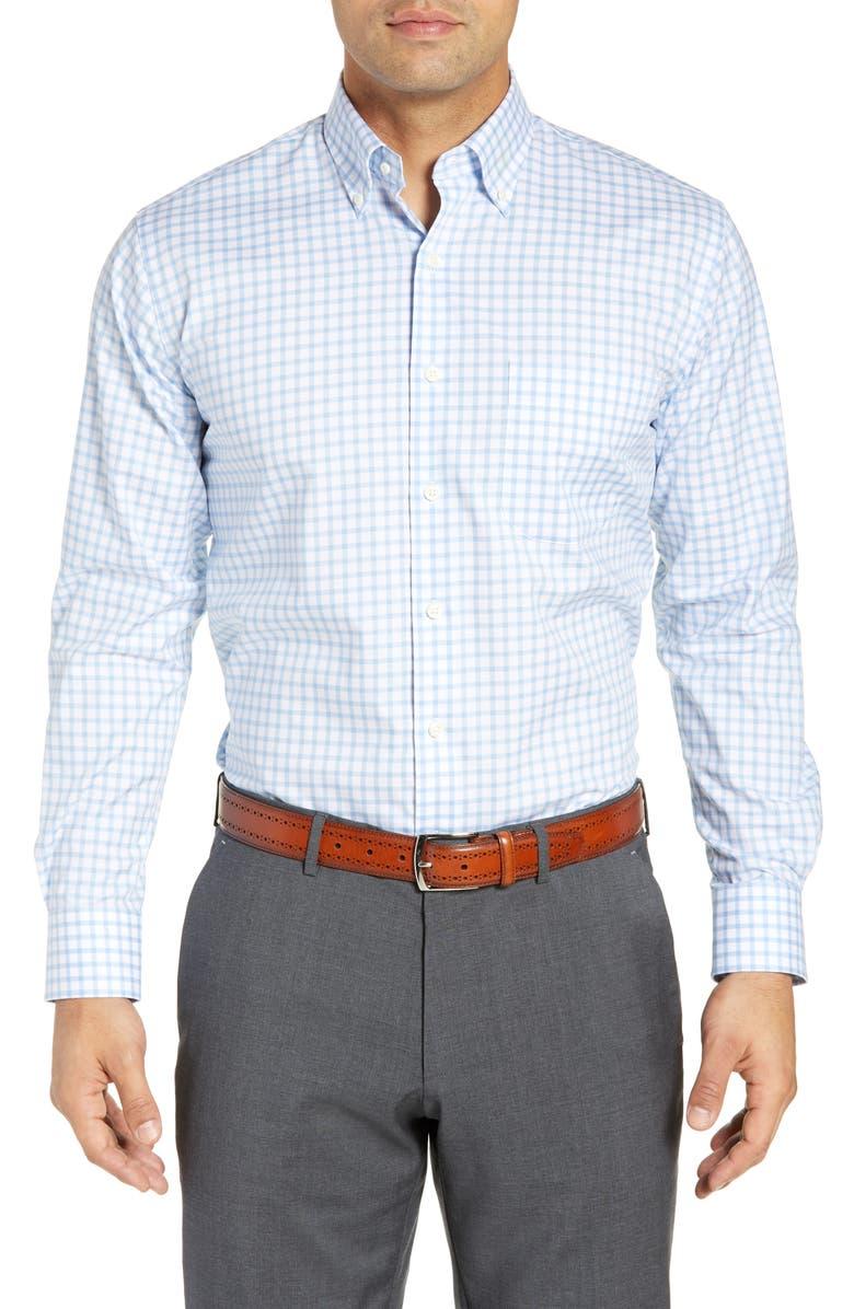 PETER MILLAR Cottage Regular Fit Shirt, Main, color, 400