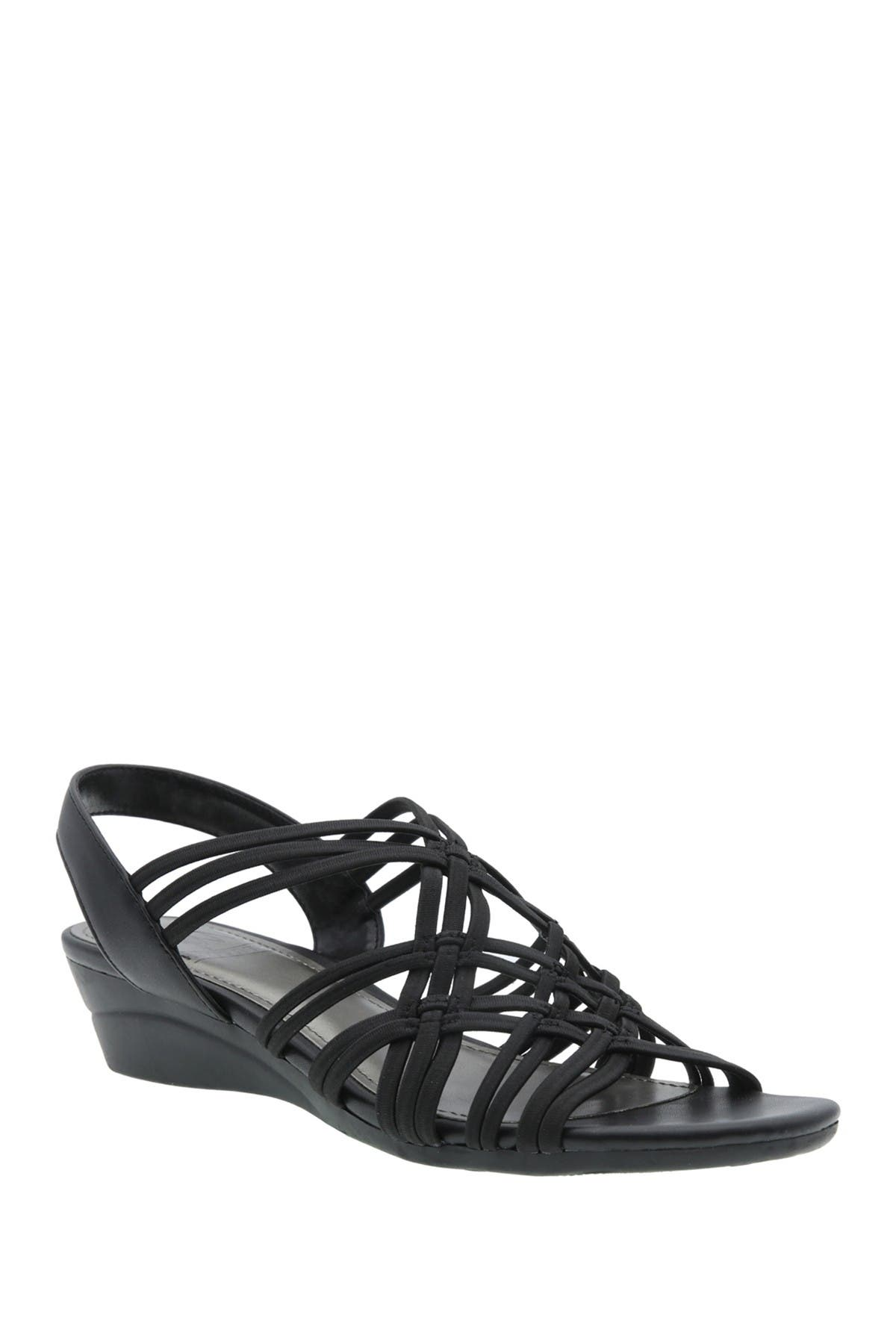 Image of Impo Rainelle Stretch Wedge Sandal - Wide Width Available