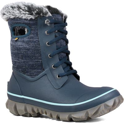 Bogs Arcata Insulated Waterproof Snow Boot, Blue