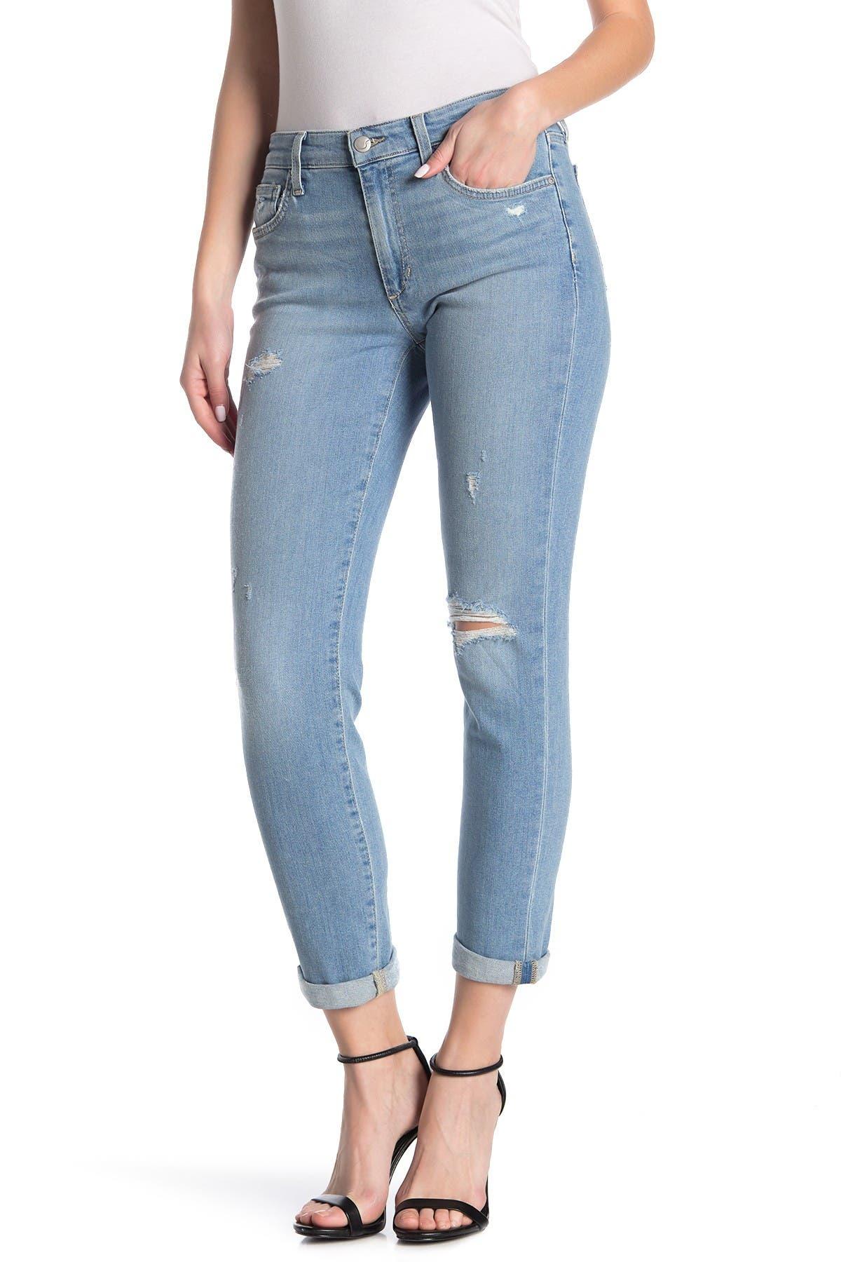 Image of Joe's Jeans Slim Fit Boyfriend Crop Jeans