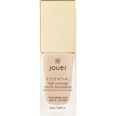 Jouer Essential High Coverage Creme Foundation - Vanilla