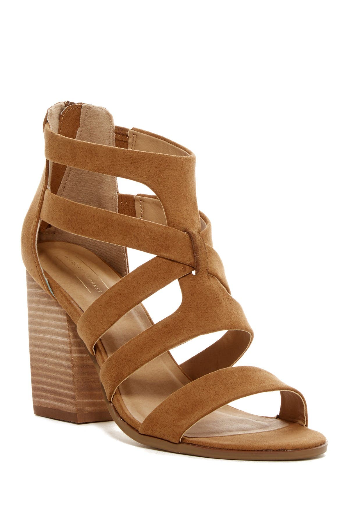 Image of Melrose and Market Rory Strappy Block Heel Sandal
