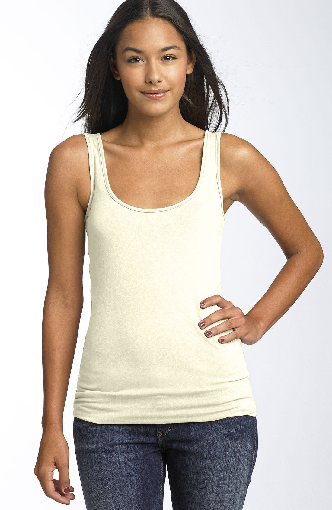 ,                             Double Scoop Neck Tank,                             Main thumbnail 95, color,                             270