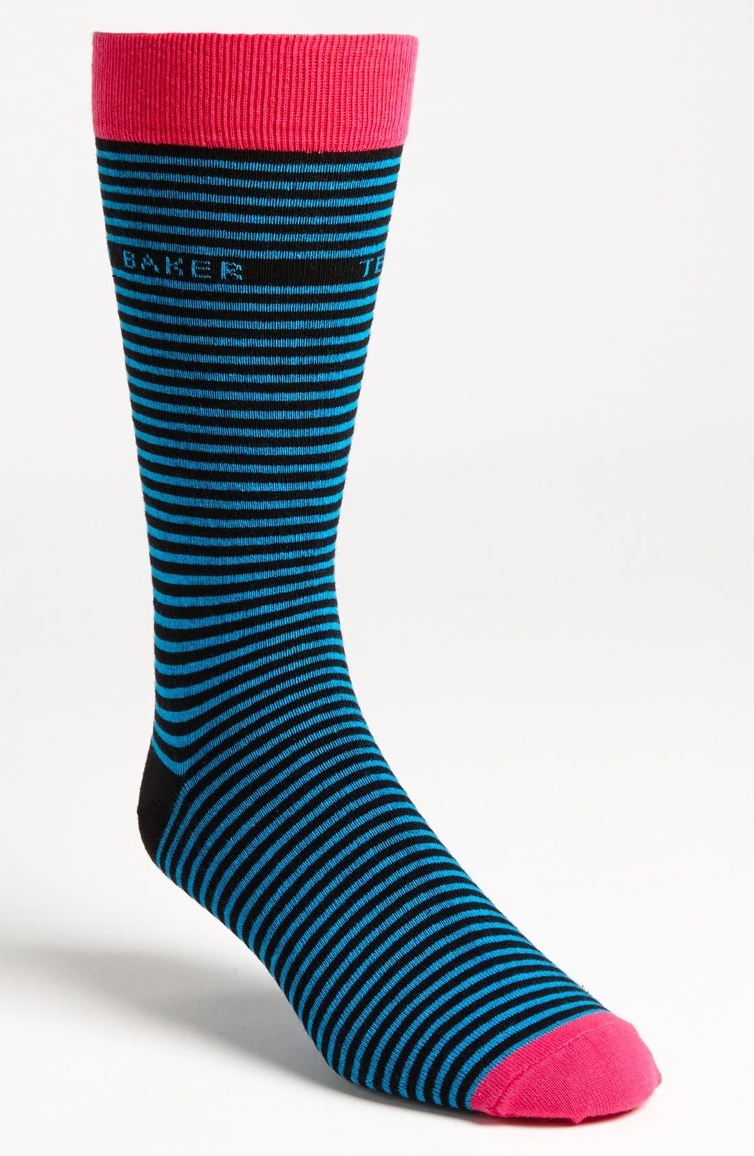 ,                             Stripe Socks,                             Main thumbnail 1, color,                             001