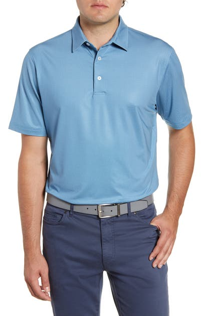 Johnnie-O Tops AUGIE CLASSIC FIT PRINT PERFORMANCE POLO