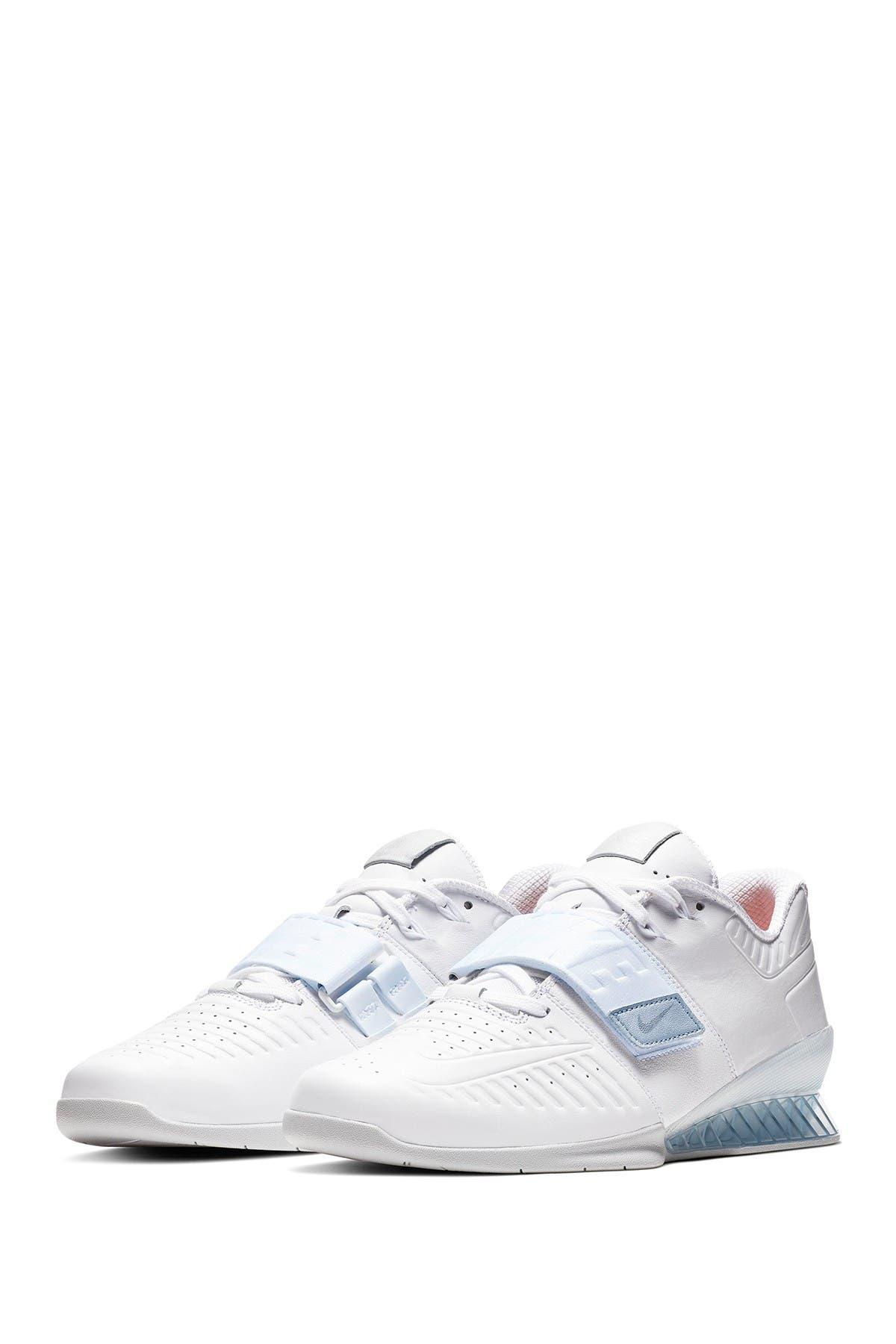 nike romaleos 3 xd white