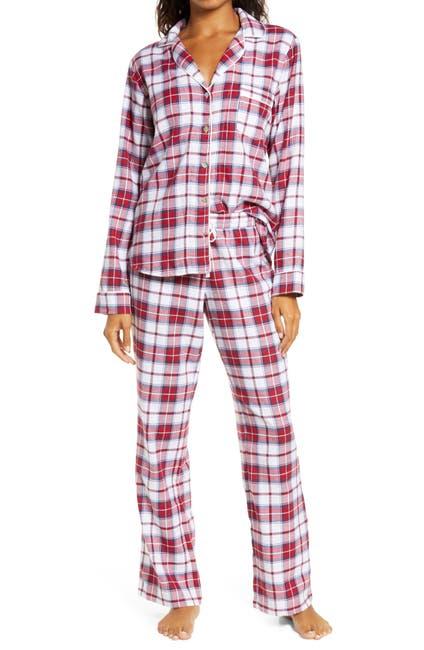 Image of UGG Raven Flannel 2-Piece Pajama Set