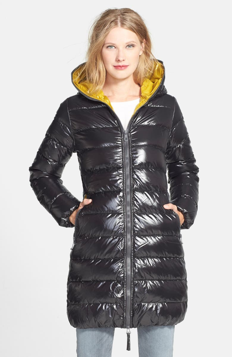 online store 21f81 e5fce 'Ace' Contrast Lined Packable Goose Down Coat