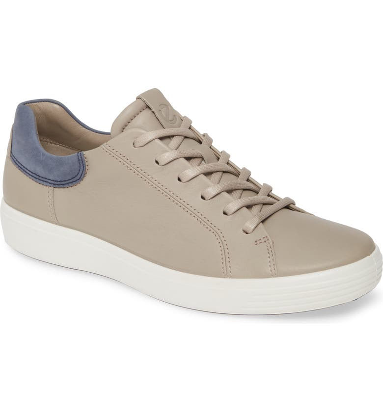 ECCO Soft 7 Sneaker, Main, color, WARM GREY