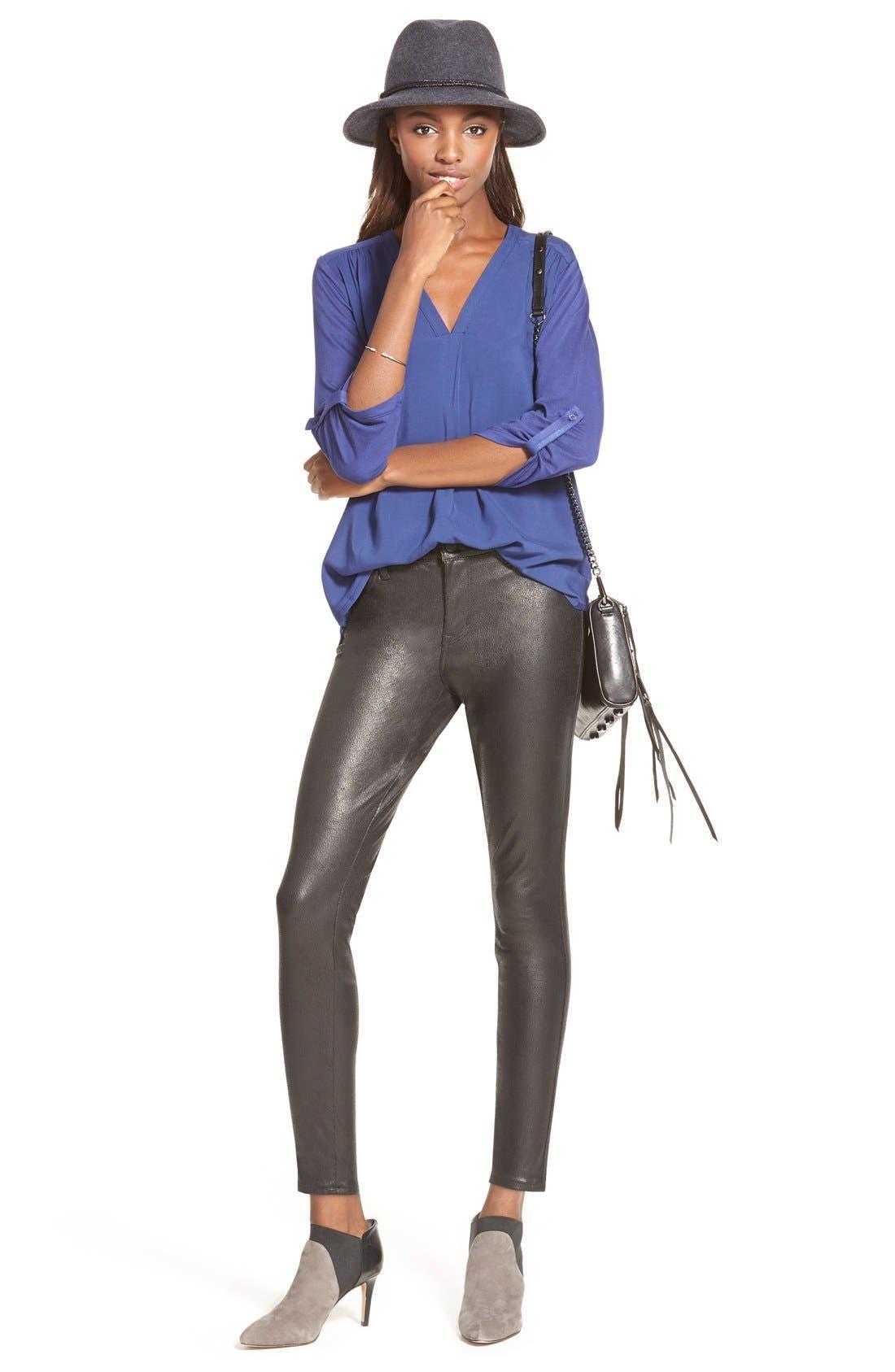 ,                             'Mini 5 Zip' Convertible Crossbody Bag,                             Alternate thumbnail 3, color,                             001