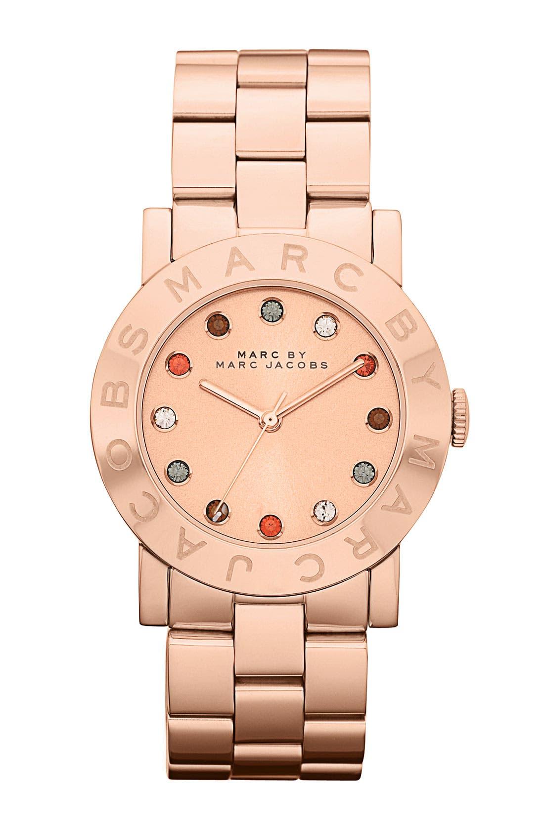 ,                             'Dexter Amy' Round Bracelet Watch,                             Main thumbnail 7, color,                             711
